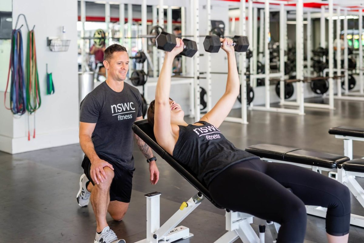 Personal training at NSWC