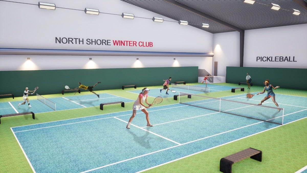 Pickleball Indoor court