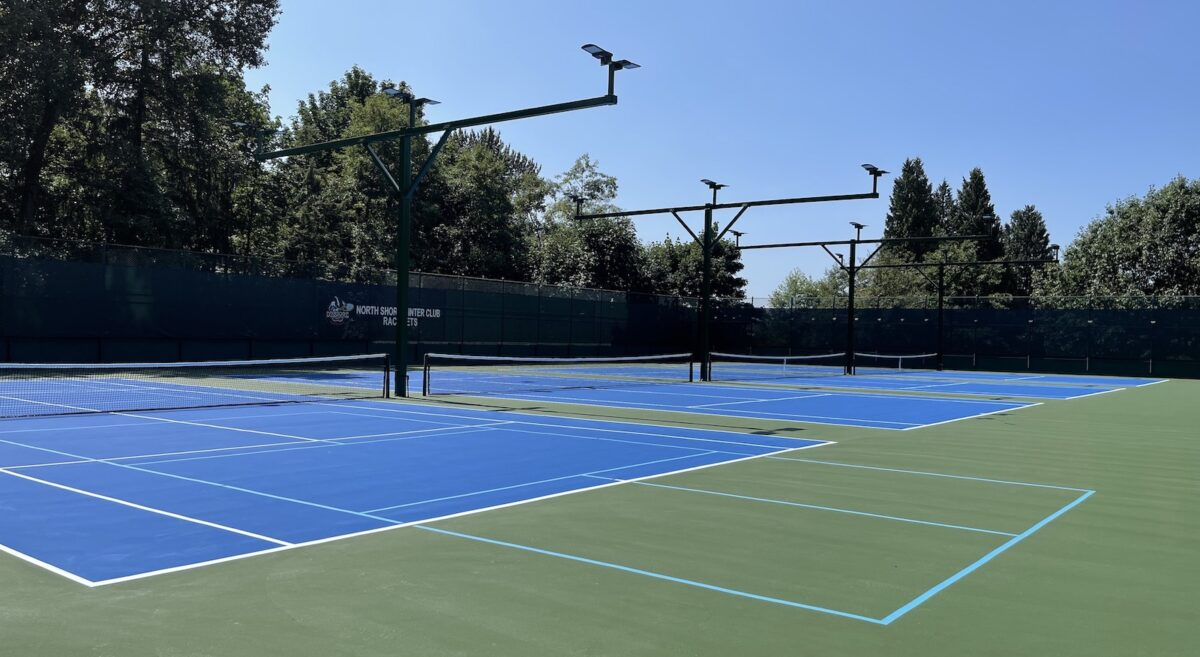 Tennis courts at North Shore Winter Club