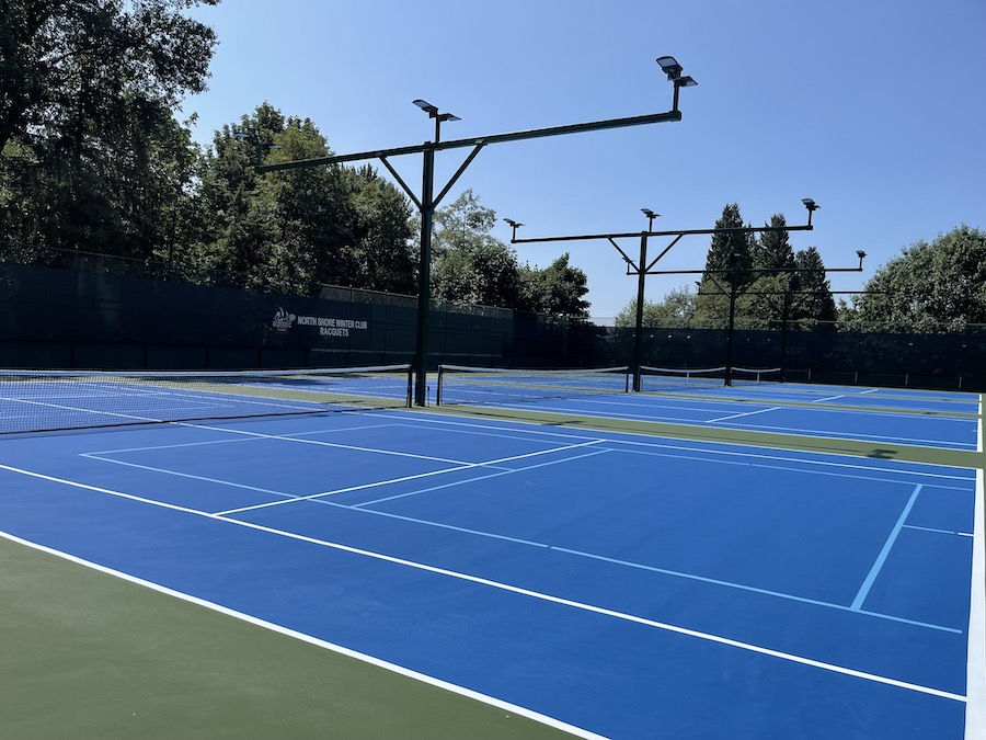Summer Tennis courts at NSWC